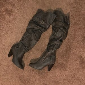 Elle Shoes - Knee high boots